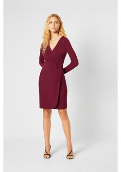 Slinky Jersey Long Sleeve Wrap Dress