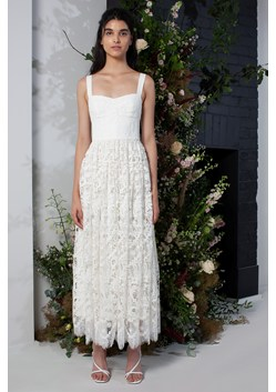 Eliza Lace Fit and Flare Wedding Dress