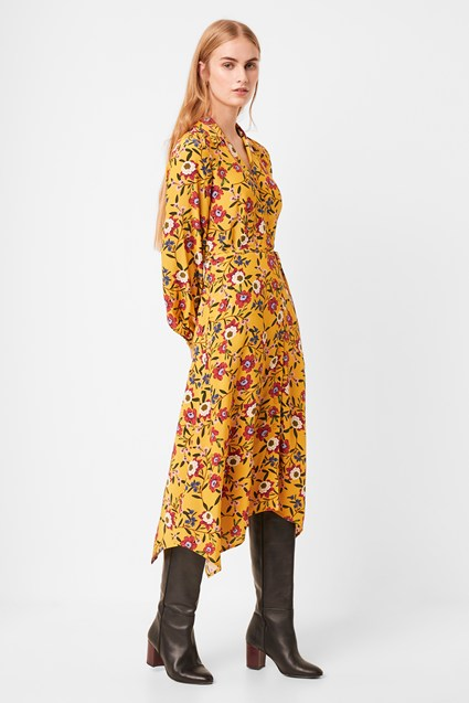 Eloise Doto Drape Shirt Dress