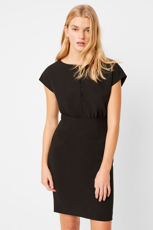 boh whisper short sleeve dress