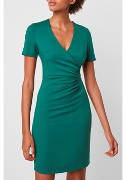 Esmei Stretch V Neck Bodycon Dress