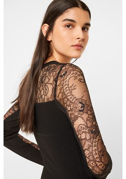 Odelia Lace Tobey V Neck Dress