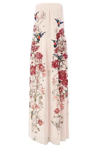 Rio Embroidered Maxi Dress