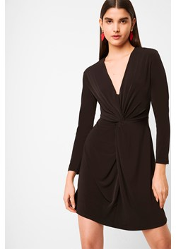 Skye Slinky Twist Front Jersey Dress