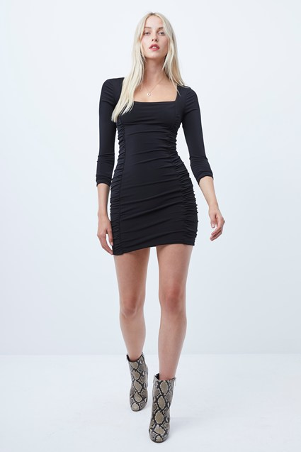 Lori Ruched Jersey Bodycon Dress