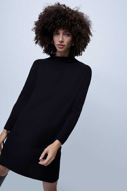 babysoft roll neck dress