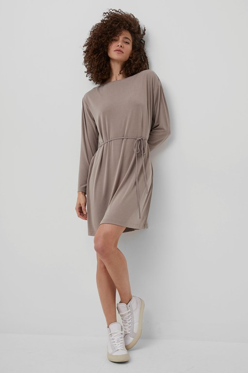 renya cupro tunic dress