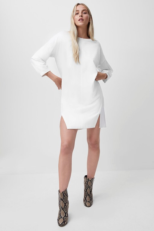 suzie beau jersey sweater dress