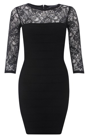 Dani Crepe Lace Dress