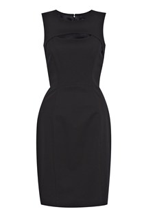 Glamour Stretch Crepe Dress