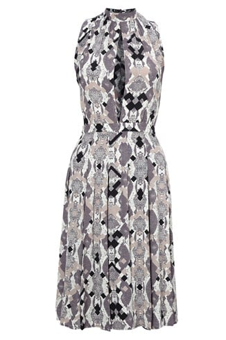 Pixel Python Sleeveless Dress