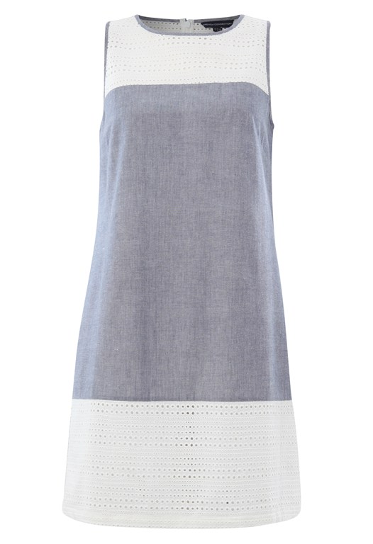 Lois Chambray Sleeveless Dress