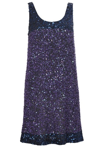Rainbow Sequins Dress