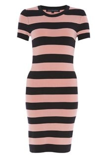 Faline Striped Dress