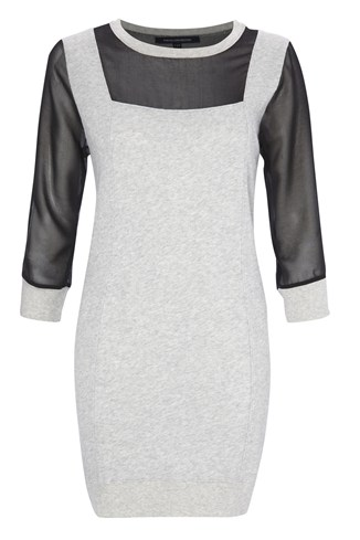 Ditton Sweats Crew Neck Dress