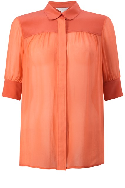 French Connection Spring Silk Shirt
