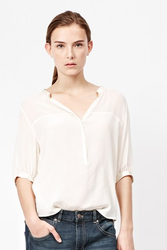 Glacier Silk Shirt