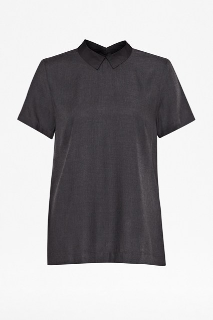 Dotty Collar Tee