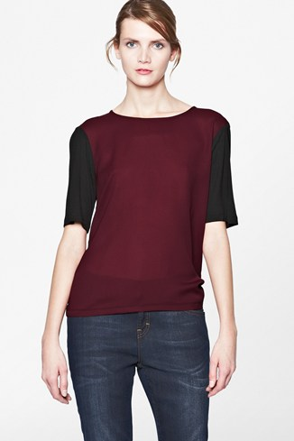 Plain Arrow Top