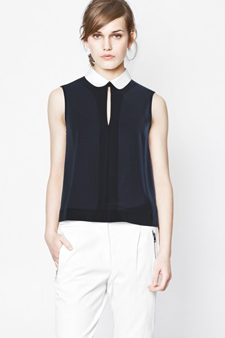 Picnic Check Sleeveless Top