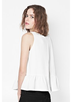 Tennis Crepe Sleeveless Top