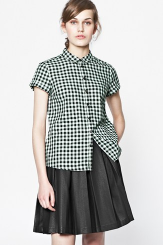 Shrimpy Cotton Check Shirt
