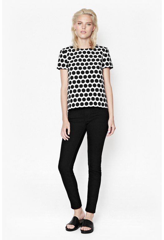 Disco Polka Dot Top