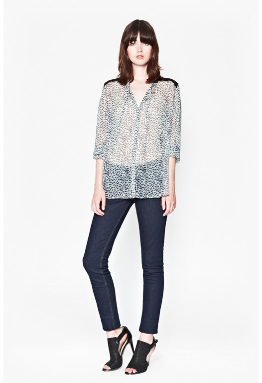 Wild Cat Printed Shirt
