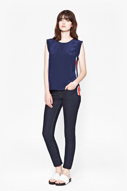 Olympic Silk Top