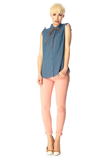 Summer Parade Sleeveless Shirt