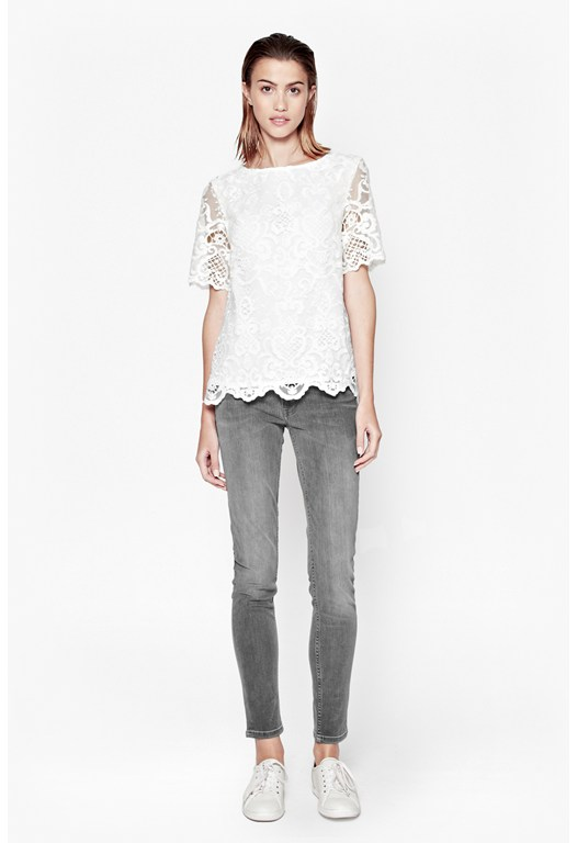 Nebraska Lace Tunic Top