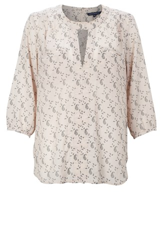 Pretty Paisley Long Shirt