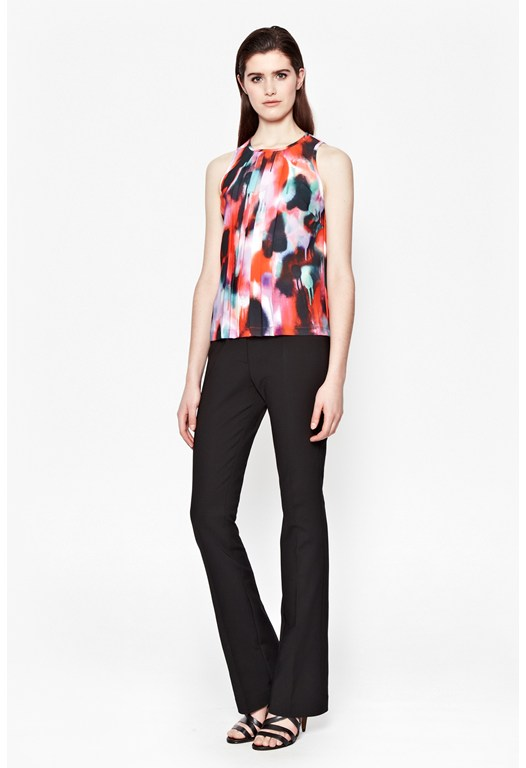 Miami Graffiti Pleat Top