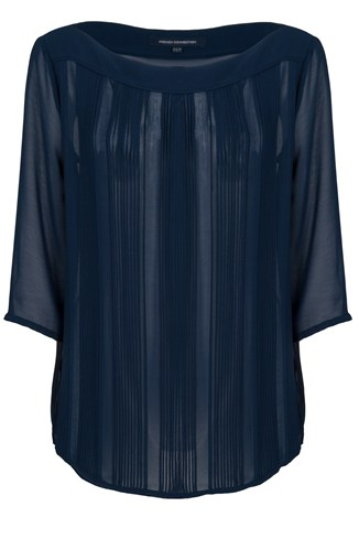 Summer Spell Pleated Top