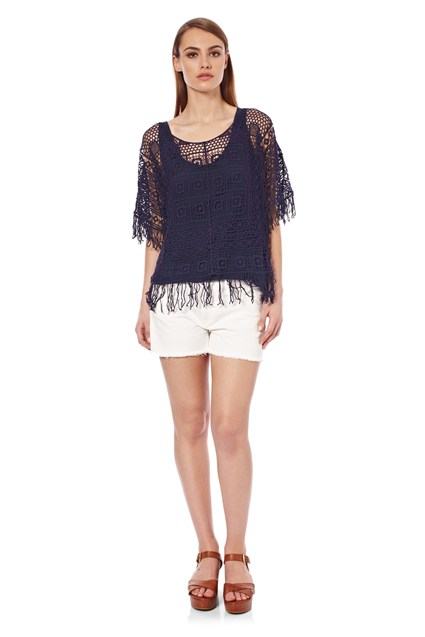 Lacey Delight Crochet Top