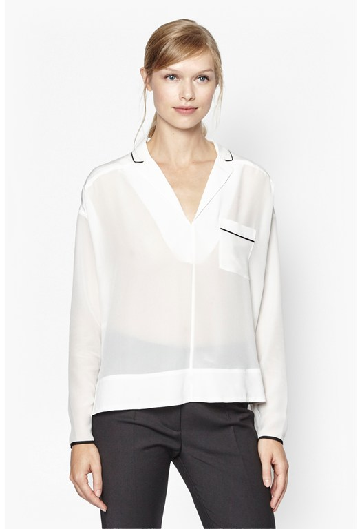 Super Silk Pocket Shirt