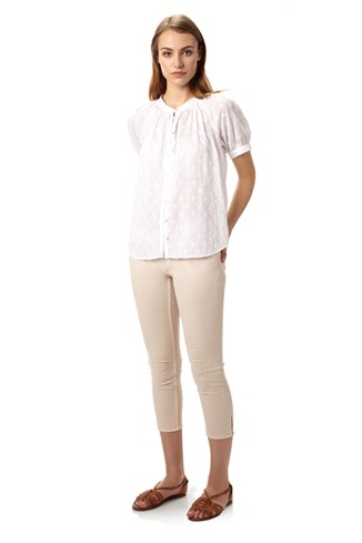 Berry Voile Top