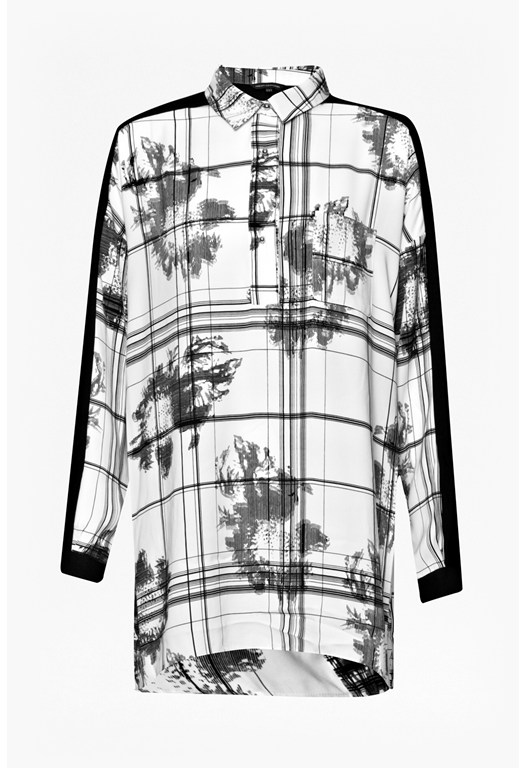 Wilderness Oversized Crepe Shirt