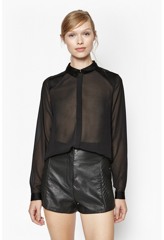 Magic Semi Sheer Shirt