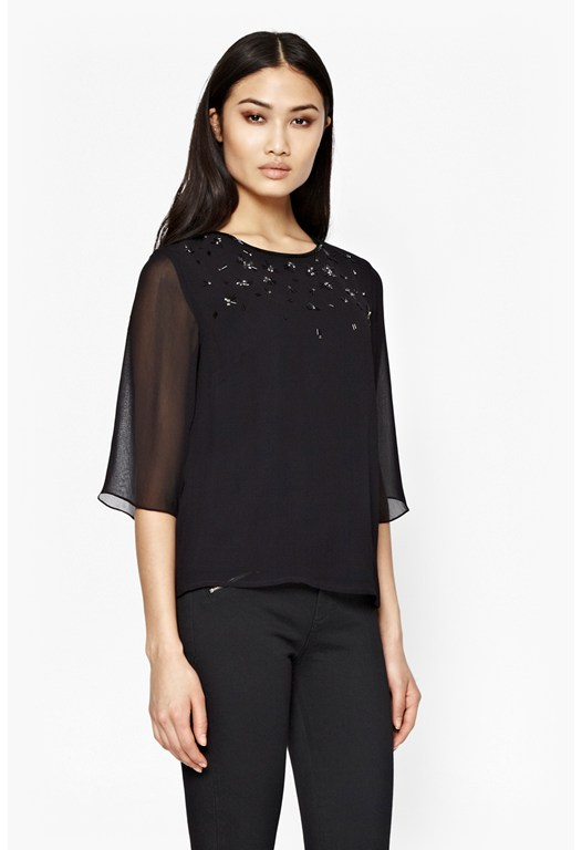 Broadway Lights Embellished Top