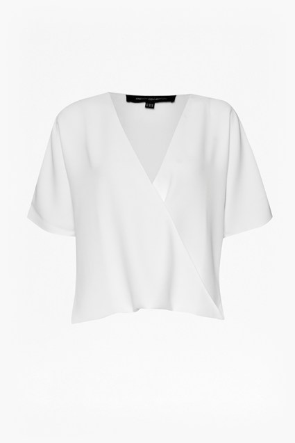 Aro Crepe Wrap Over Top
