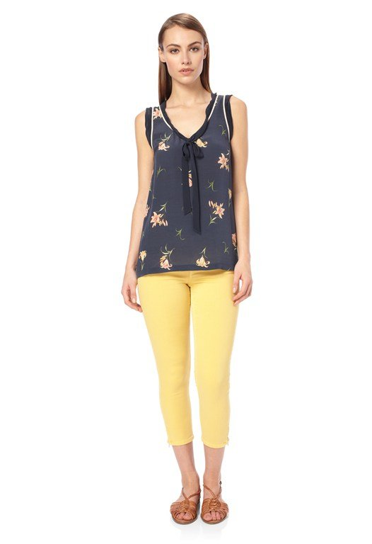 Lilly Anna Tie Front Top