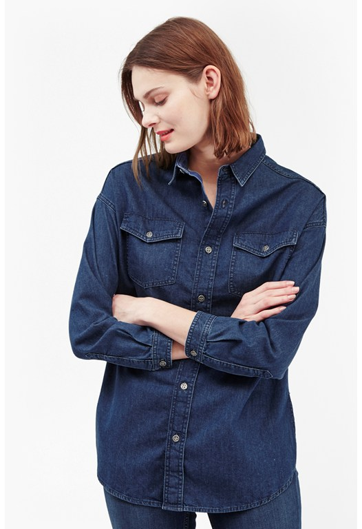 Dori Denim Long Sleeves Shirt