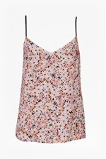 Looks Great With Bacongo Daisy Printed Strappy Top
