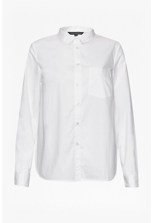 Pin Cotton Chest Pocket Shirt