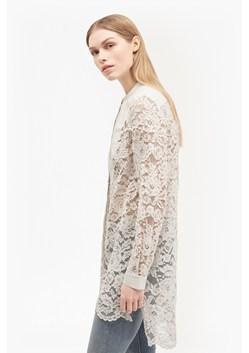 Georgiana Lace Bib Shirt