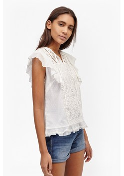 Dayton Lace Frill Sleeve Top