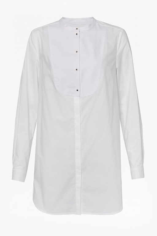Complete the Look Southside Cotton Bib Shirt