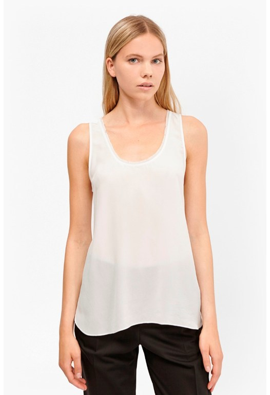 Super Silk Sleeveless Tank Top
