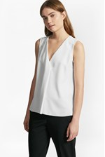 Looks Great With Arrow Crepe Sleeveless Blouse